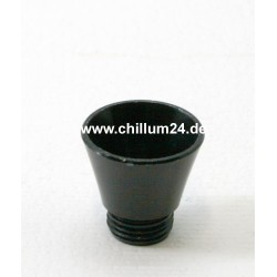 Aluflutsch-Schraubkopf Medium Schwarz