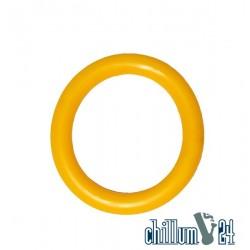 Acryl Mundstück weich 50mm Yellow