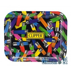 Metall Rolling Tray Clipper Chaosline 34 x 27,5 x 3cm