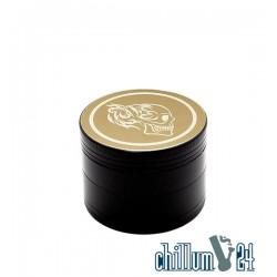 Alu-Grinder 4-teilig 50mm Black Silver Skull 1