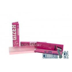 Gizeh Pink King Size Slim + Tips Extra Fine Limited Edition