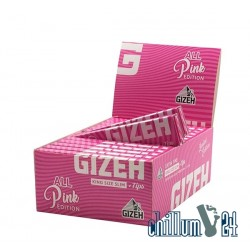 Box 26x Gizeh Pink King Size Slim + Tips Extra Fine Limited Edition