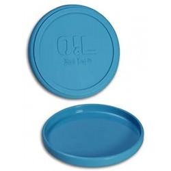OiL Black Leaf Silikonschale 12cm matt Blue