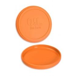OiL Black Leaf Silikonschale Ø 12cm matt Orange