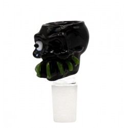 Grace Glass Monster Bowl 18.8 Siebkopf Black