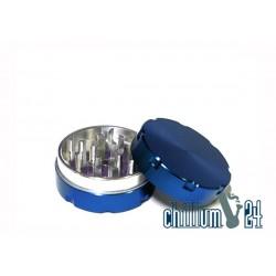 Alu-Grinder Ø 40mm 2-Teilig Blue