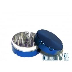 Alu-Grinder Ø 50mm 2-Teilig Blau