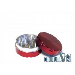 Alu-Grinder 40mm 2-Teilig Red