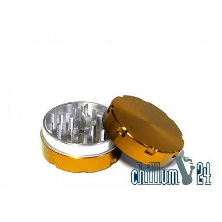 Alu-Grinder 40mm 2-Teilig Gold