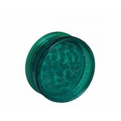 Acryl-Grinder mit Vorratsfach 60mm Dark Green