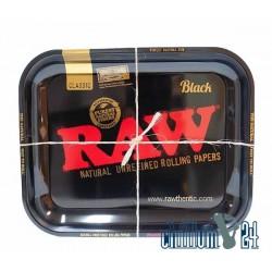 Metall Rolling Tray RAW Black 34x27,5cm