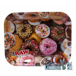 Metall Rolling Tray RAW Donuts 34x27,5cm