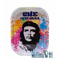 Metall Rolling Tray Che Guevara White 18x14cm