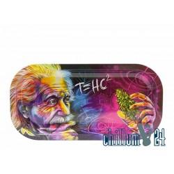 Metall Rolling Tray Einstein 20,8x10,5x1,8cm