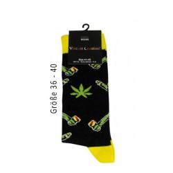 Vincent Creation Cotton Socks Yellow Gr. 36-40