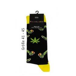 Vincent Creation Cotton Socks Yellow Gr. 41-45