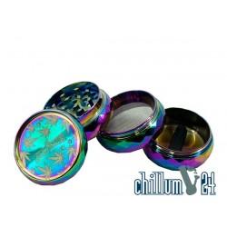 Super Heroes Alu Grinder 4-tlg Diamond Rainbow