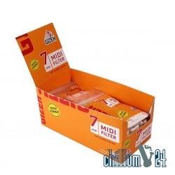 Box 10x 100er Gizeh Medi Filter 7mm