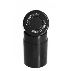 Champ High Vakuumdose Kunststoff 10cm hoch Black