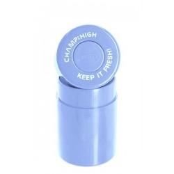 Champ High Vakuumdose Kunststoff 10cm hoch Light Blue