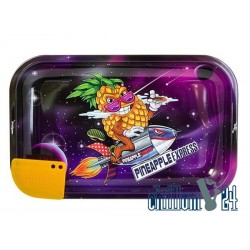 "Metall Rolling Tray ""Best Buds- Superhigh Pineapple Express"" 27,5x17,5x2cm"