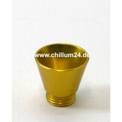 Aluflutsch-Schraubkopf Medium Gelb