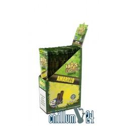 Box mit 25 Juicy Hemp Enhanced Wraps 2x Amarillo