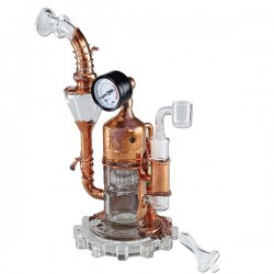 Black Leaf Galileo's SteamOmeter Ölbong Recycler