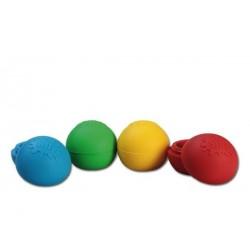 Oil Black Leaf Silly Silikon-Balls 38mm Farbmix
