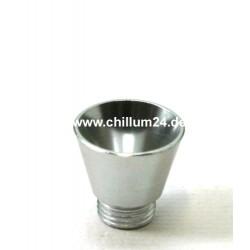 Aluflutsch-Schraubkopf Medium Silber