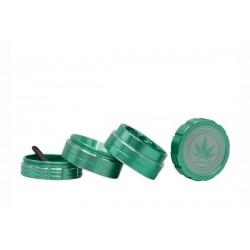 Grace Glass Amsterdam Grinder 4-Part 40mm Green