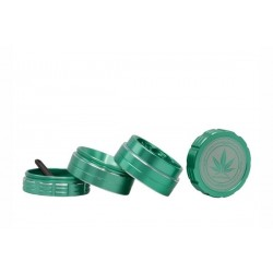 Grace Glass Amsterdam Grinder 4-Part 40mm Green