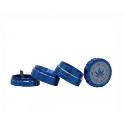 Grace Glass Amsterdam Grinder 4-Part 40mm Blue