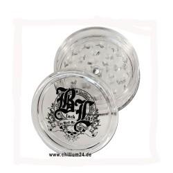 Black Leaf Acryl Grinder mit Magnet und Fach 60 mm