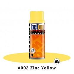 MOLOTOW Premium 400 ml #002 Zinc Yellow
