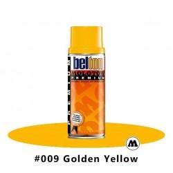 MOLOTOW Premium 400 ml #009 Golden Yellow