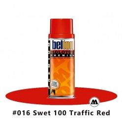 MOLOTOW Premium 400 ml #015 SWET 100 Traffic Red