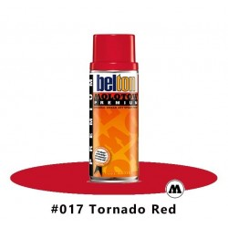 MOLOTOW Premium 400 ml #017 Tornado Red