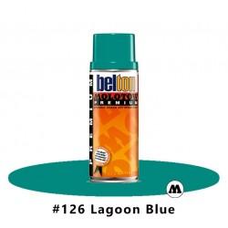 MOLOTOW Premium 400 ml #126 Lagoon Blue / Blaugrün hell
