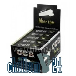 Box 25x OCB Filtertips 1,8 x 6,0cm 50 Tips perforated