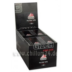 Box 24x Gizeh Black Filtertips King Size
