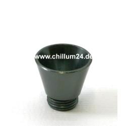 Aluflutsch-Schraubkopf Medium Antrazith