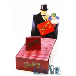 Box Smoking Papel de Arroz 50 Booklets
