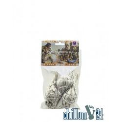 Weißer Salbei 3er-Set Mini Bündel 60g