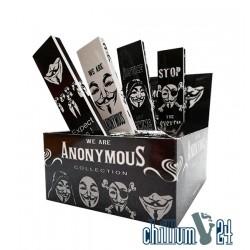Box mit 26x Anonymous KSS Paper mit Tips