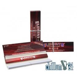 Elements Red K.S.Slim 32 Slow Burn Hemp Papers + Tips