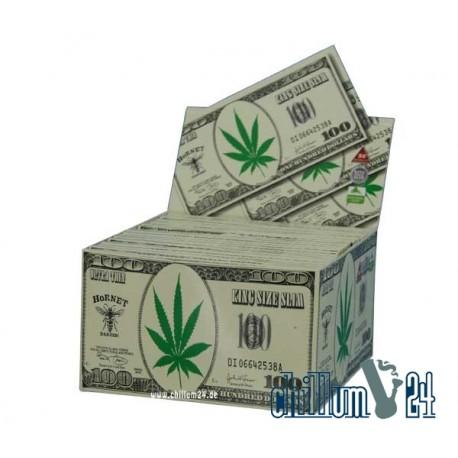 Hornet King Size Paper mit Dollarmotiv