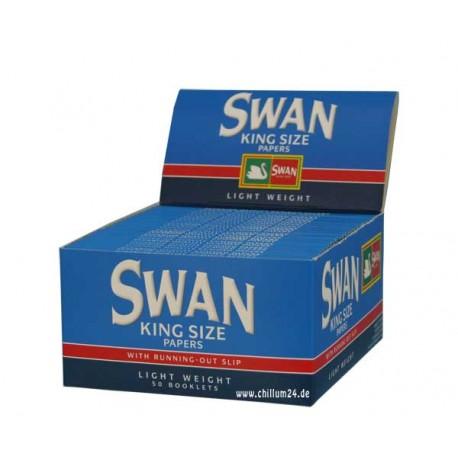 Box mit 50x Swan King Size Paper
