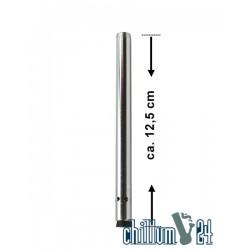 Alu-Diffusorchillum Fallrohr 12,5cm mit Außengewinde