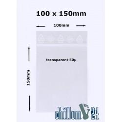 Baggies Blanko 100x150 mm